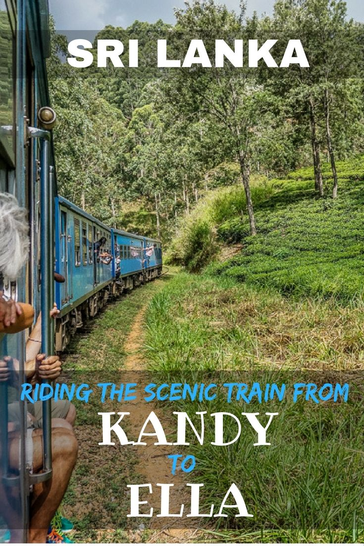 Our experience riding the Sri Lanka Railway Kandy to Ella train. Many say the train from Kandy to Ella is the word's most scenic. If you get a seat! | World most scenic train ride | Best train rides in Sri Lanka | Booking trains in a Sri Lanka | Organising Train tickets in Sri Lanka | Unreserved train tickets Sri Lanka | Train Journeys Sri Lanka | Travel Photography | Backpacking Sri Lanka | Sri Lanka on a Budget | Top train routes Sri Lanka | Kandy to Ella Train ticket