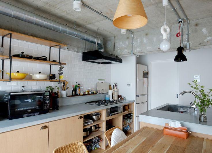お料理が楽しくなる。キッチンのリノベーション・ビフォーアフター10選。 | リノベる。ジャーナル