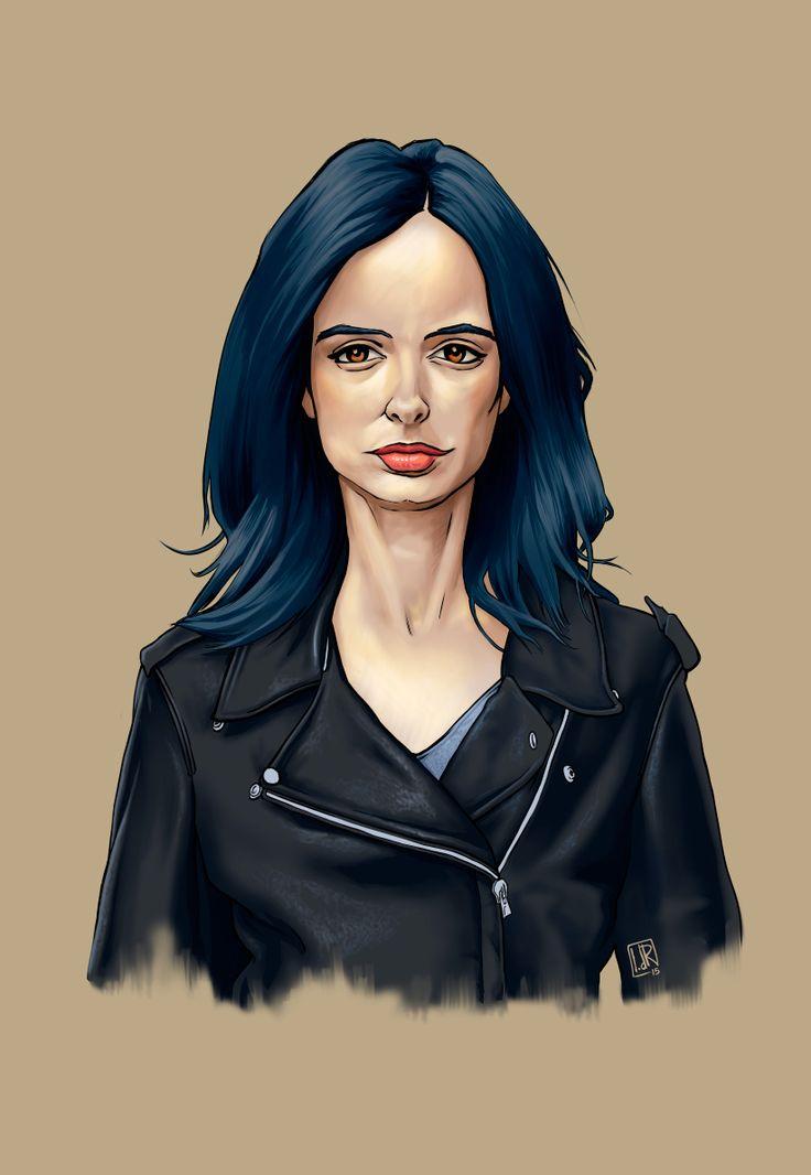 Krysten Ritter as Jessica Jones. by IvandelRio