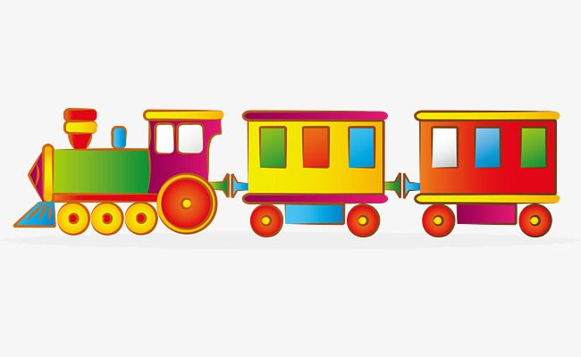 Vector Cartoon Little Toy Train Cartoon Clipart Train Clipart Hand Painted Toy Train Png Transparent Clipart Image And Psd File For Free Download Toy Trains For Kids Train Clipart Train Cartoon