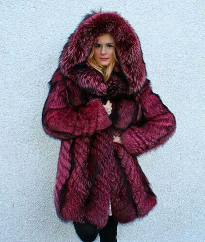 149 best Purple Fur images on Pinterest   Furs, Fur coats and Fur ...