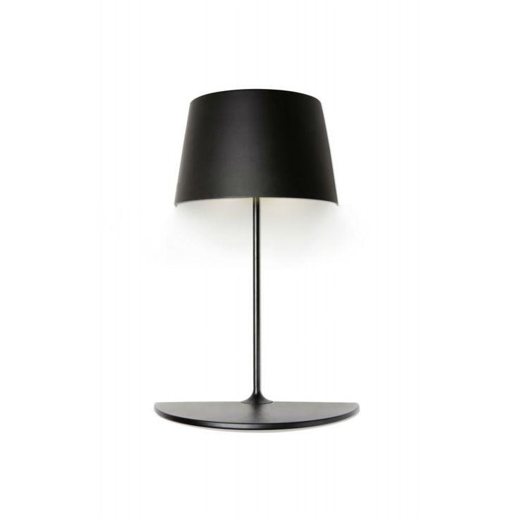 Kinkiet ze stolikiem Half Illusion Northern Lighting czarny, Scandinavian Living