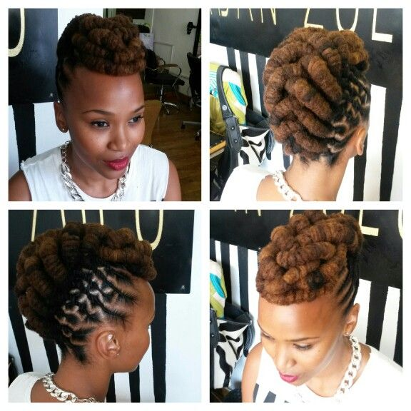Claire Mawisa from South Africa. Locks by Smangele of Urban Zulu.