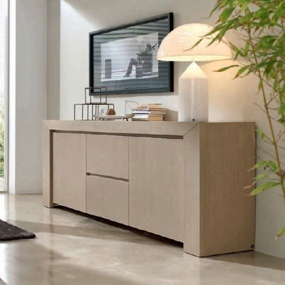 Vitrinas muebles salon pinterest buffet credenza and interiors - Aparadores modernos para comedor ...