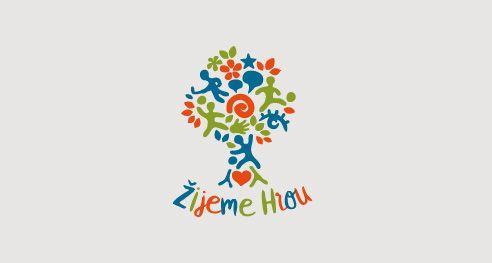 ŽIJEME HROU, z.s., Spolek pro zážitkové učení a sport, Logotyp (2016) / The Association for Experiential Learning and sport, logotype, logodesign