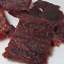 An awesome spicy beef jerky with the addition of smoke flavor!