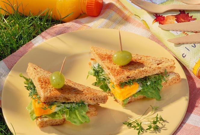 Spiegelei Sandwich | Kochrezept