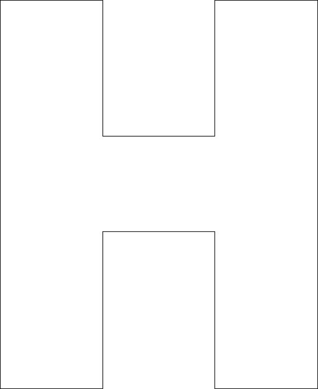 Use these free printable alphabet templates to create custom handmade cards, in…