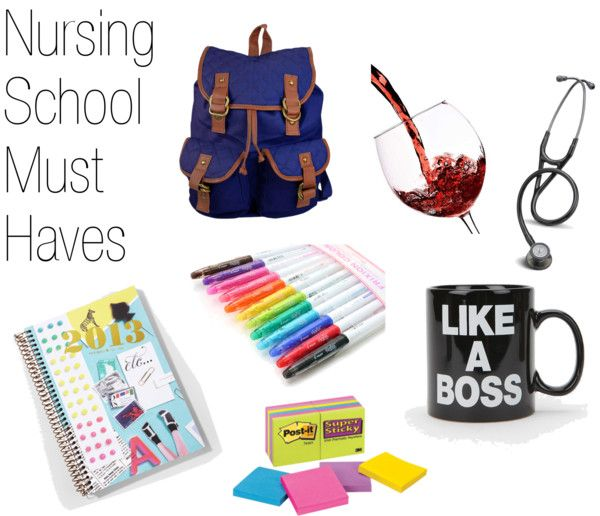 Nursing School Must Haves - A Dose of Paige