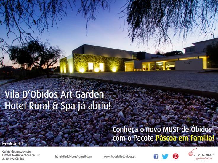 Newsletter #1 Vila D'Obidos page 1