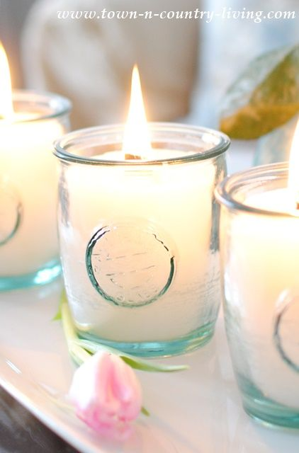 See how easy it is to make scented candles in a jar. You can choose a variety of jars or other vessels for your homemade candles.