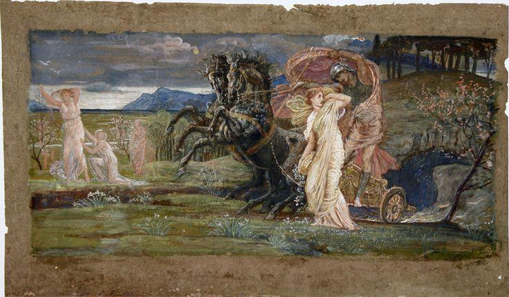 Walter Crane English 1845 1915 The Fate Of Persephone
