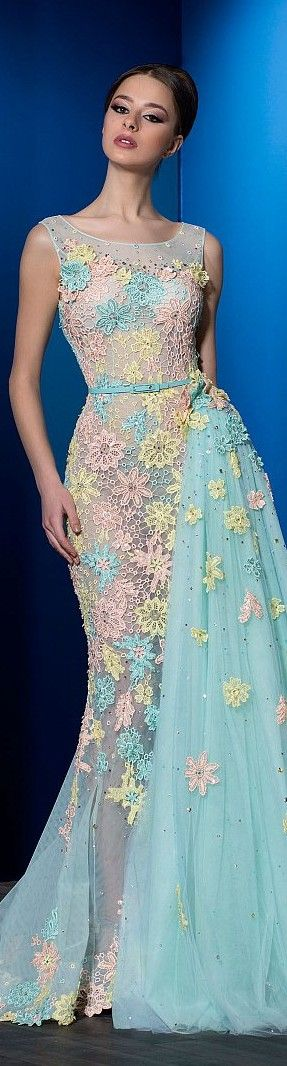 Ali Al Khechen couture 2016 SS