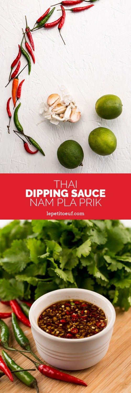 Thai Dipping Sauce (Nam Pla Prik)