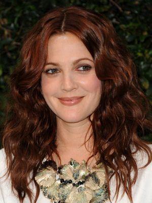 Le roux brun de Drew Barrymore