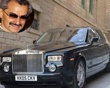 Prince Alwaleed Bin Talal Alsaud, member of the Saudi royal family, drives a Rolls-Royce Phantom. The entry level version of the prince's car costs $246,000, while an upscale version a royal would surely need is a cool $447,000.