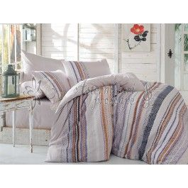 Hobby Home Milena gri - Lenjerie de pat din bumbac ranforce 2 persoane