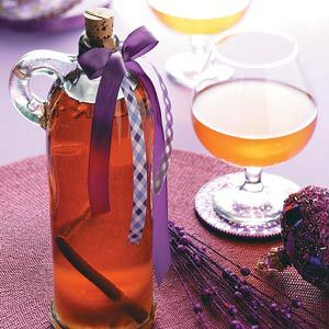 Apple Brandy Recipe -I spend a lot of time developing recipes for the many fruits and vegetables we grow on our farm. In this creation, brandy is enhanced with apples and spices for a delightful drink.—Deanna Seippel, Lancaster, Wisconsin