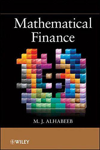 Book: Mathematical Finance