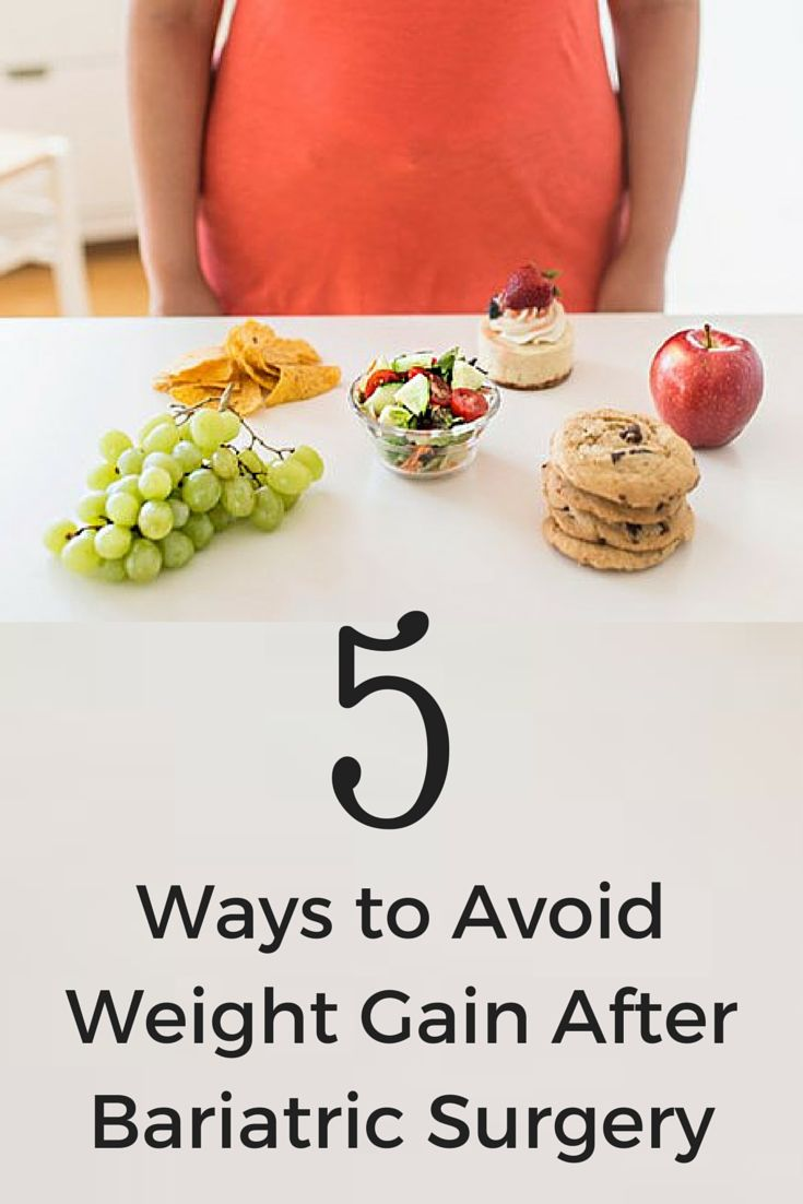 5 Ways to Avoid Weight Gain After Bariatric Surgery ...