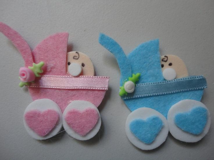 Recuerdos Para Baby Showers Niño ~ Images about fieltro para recuerdos on pinterest