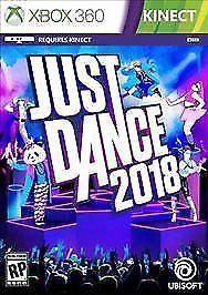 Just Dance 2018 (Microsoft Xbox 360, 2017) new Xbox 360 offer best price