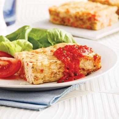 Pain de thon au riz et légumes - Soupers de semaine - Recettes 5-15 - Recettes express 5/15 - Pratico Pratique