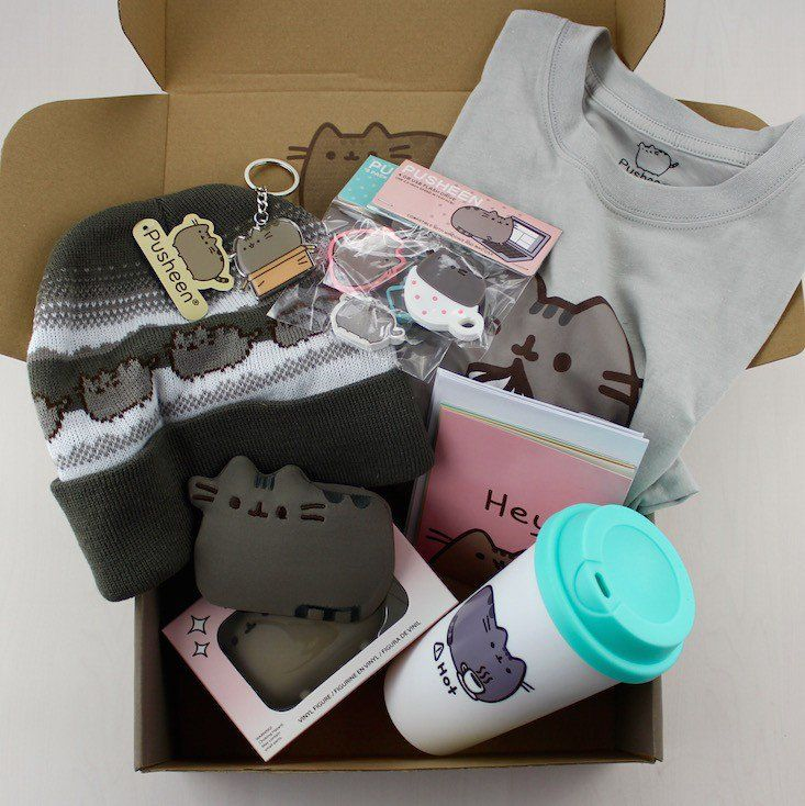 Pusheen Box Winter 2017 Review Subscription Bo Hobbies Food Women Men Children Pets Pinterest And