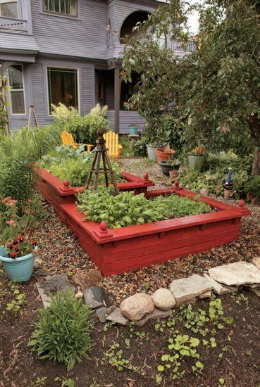 A DIY Raised Garden Bed