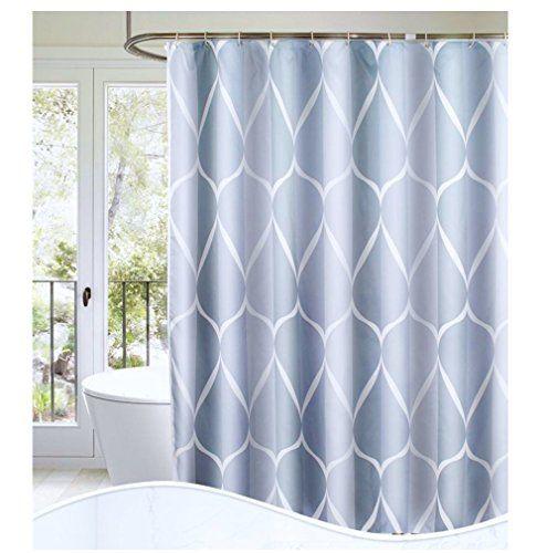 S Lattye Luxury Shower Curtain Liner Water Repellent Fabr Https
