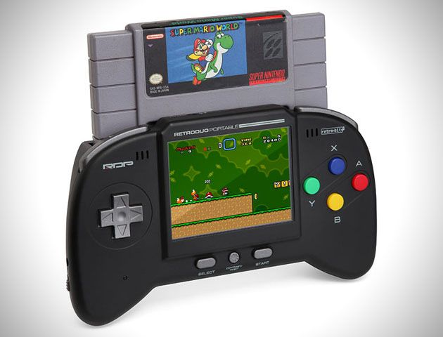 Super Nintendo Game System portable Now this is pretty awesome
