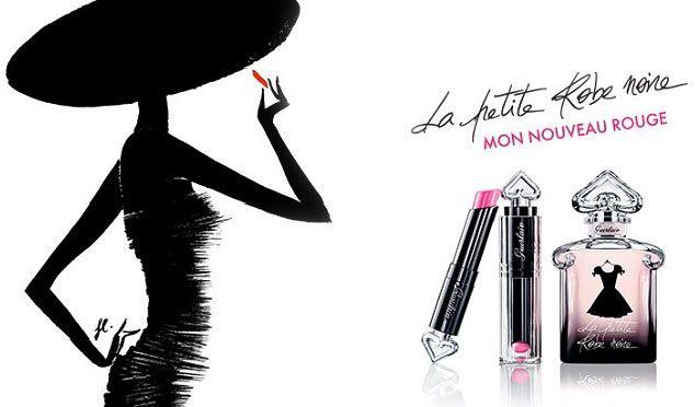 Maquillage-La-Petite-Robe-Noire-Guerlain - Rouge à lèvres - Lips - makeup - LPRN - parfum