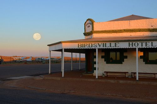 Birdsville is a small town located in the Channel Country of Central West Queensland, Australia. It is 1590 kilometres west of the state capital, Brisbane, and 720 kilometres south of the city of Mount Isa. Birdsville is on the edge of the Simpson Desert, and the climate is very arid. At the 2011 census, Birdsville had a population of 283.