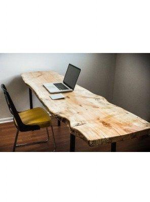 Top in legno per tavolo scrivania in legno massello 160x60x5