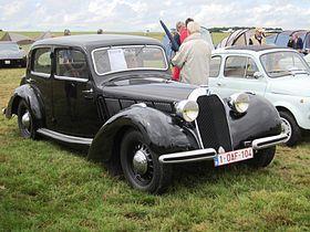 Talbot Lago Minor T4 1937 at Schaffen-Diest 2013.JPG