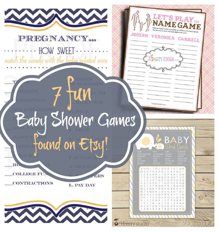 115 Best Images About Baby Shower Games On Pinterest