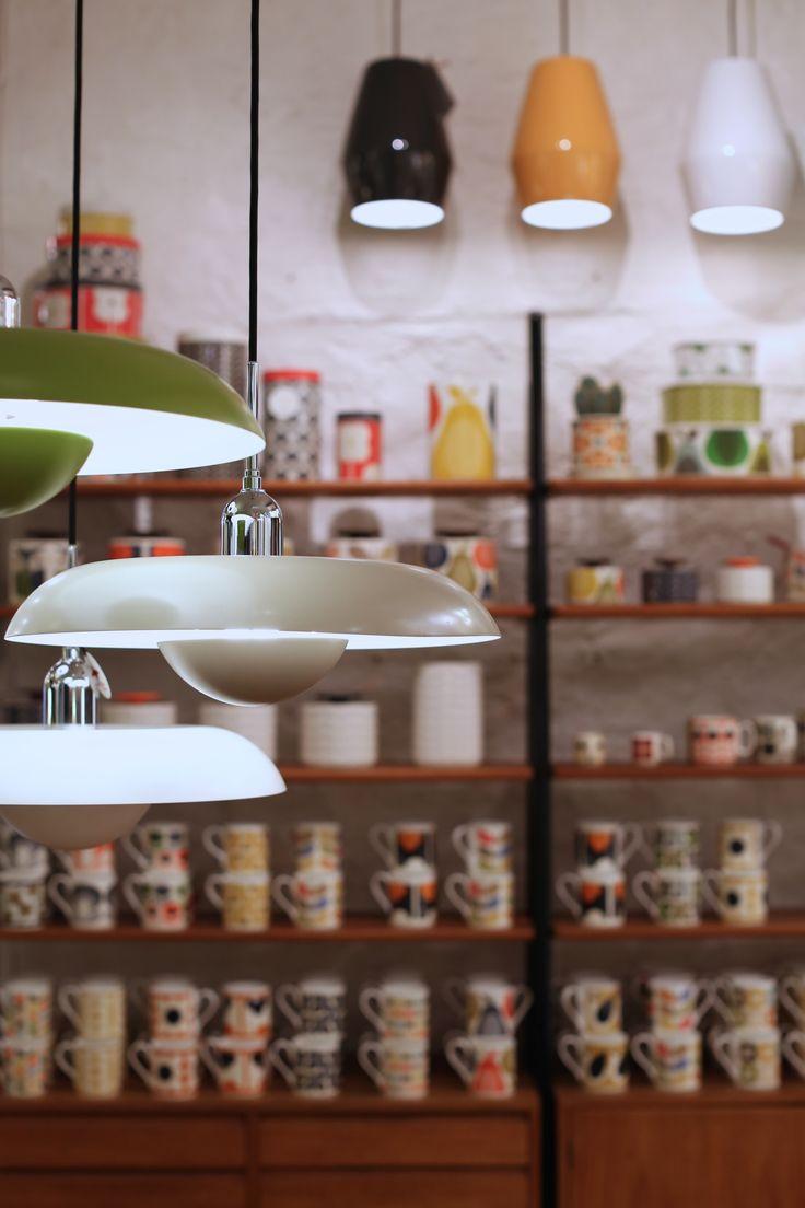 Ra lamper av Piet Hein, Bell lamper av Northern Lighting, Orla Kiely hos Futura Classics