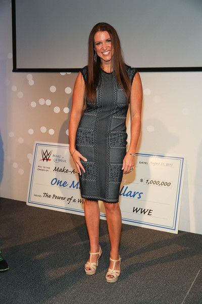 Stephanie McMahon Photos - John Cena and Make-A-Wish Celebrate His 500th Wish Granting Milestone - Zimbio