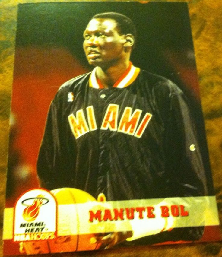 Manute Bol 1994 Miami Heat Trading Card