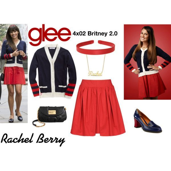 Rachel Berry (Glee) : 4x02 polyvore, fashion, style, Carven, L. Erickson, Episode, Marc by Marc Jacobs, Fendi, clothing and glee | What did you like about Glee? |Discover new fashion ideas on www.primpymag.com/ | #movie #series #copythelook #primpytips #primpytstyle