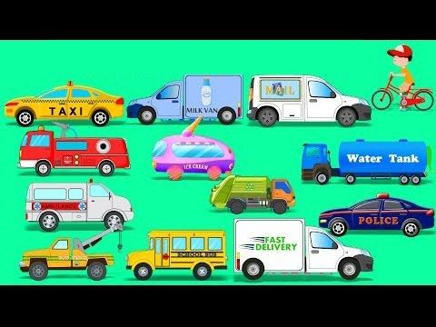 Street Vehicles | Toy Car | Video For Kids | Learn Transport - YouTube