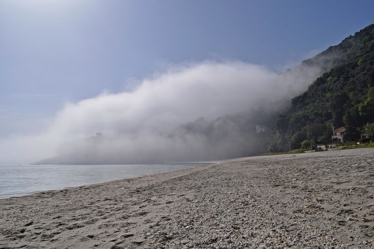 Mystery at Papa Nero beach, Pelion!