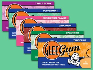Glee Gum is the best when looking for no artificials added!