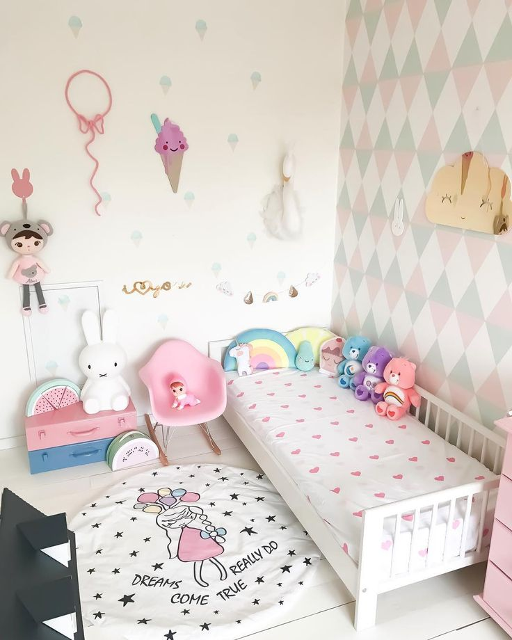 """188 Likes, 14 Comments - @myfamilyandhome on Instagram: """"Ice cream wallAlmas new ice cream wall stickers from lovely @poli_and_oli is to die for Such a…"""""""