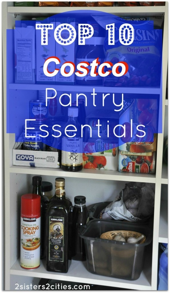 Costco Wedding Gift Ideas : Top 10 Costco Pantry Essentials- Grocery cart space at warehouse clubs ...