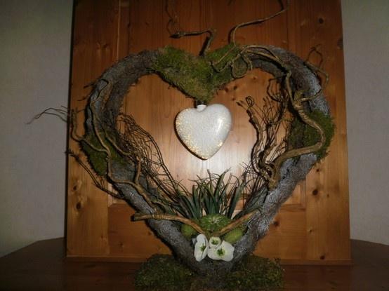 zelf gemaakt  kijk ook op het bord zelfgemaakte bloemstukken en kerstidee