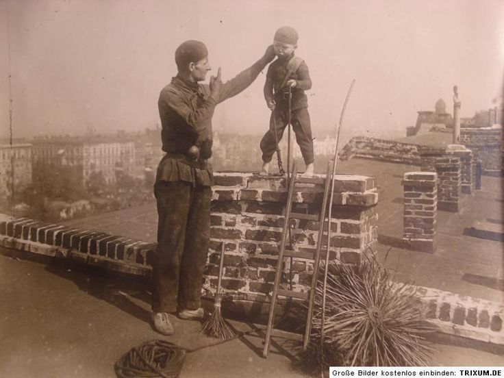 A young chimney sweep.