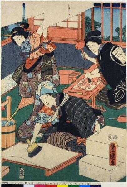 Storia, tecnica e generi delle stampe giapponesi