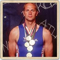 Steve Redgrave - He could have quit but just kept on setting himself new challenges.