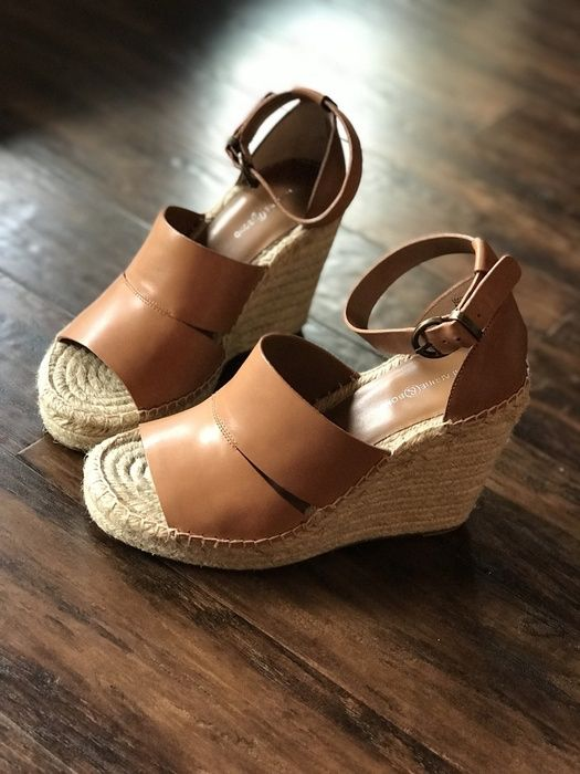 60e316050bb Nordstrom tan wedges perfect for summer style! #ShopStyle ...